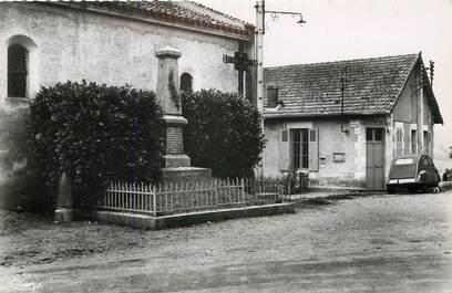 """CPSM FRANCE 03 """"Saint Etienne de Vicq, monument aux morts et bureau de Poste"""""""
