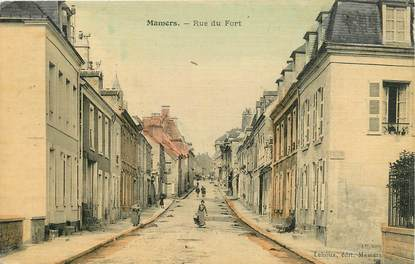"/ CPA FRANCE 72 ""Mamers, rue du fort """