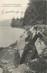"""/ CPA FRANCE 54 """"Le poëte Nanceien Pierre Weiss sur les bords du lac de Gérardmer"""""""