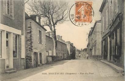 """/ CPA FRANCE 53 """"Montsurs, rue du pont"""""""