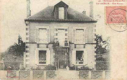 """/ CPA FRANCE 53 """"La Lasselle, une maison"""""""