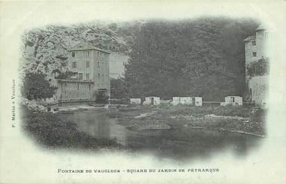 """CPA FRANCE 84 """"Fontaine de Vaucluse"""""""