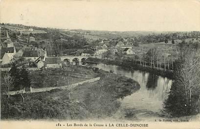"""CPA FRANCE 23 """"La Celle Dunoise, les bords de la Creuse"""""""