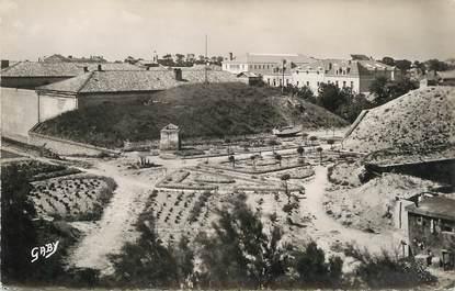 """/ CPSM FRANCE 17 """"Ile de Ré, Saint Martin, la citadelle et les jardins"""""""