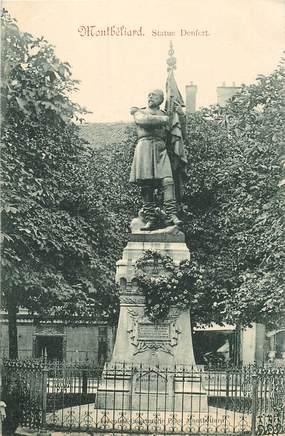"""CPA FRANCE 25 """"Montbéliard, statue Denfert"""""""