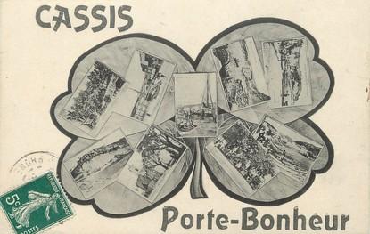 """/ CPA FRANCE 13 """"Cassis, porte bonheur"""""""