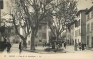 """13 Bouch Du Rhone / CPA FRANCE 13 """"Cassis, place de la République"""""""
