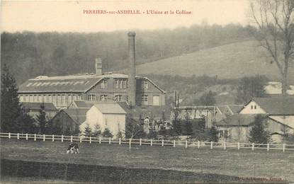 """CPA FRANCE 27 """"Perriers sur Andelle, Usine"""""""