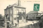 """27 Eure CPA FRANCE 27 """"Piencourt, la mairie et l'Ecole"""""""