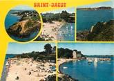 """22 Cote D'armor / CPSM FRANCE 22 """"Saint Jacut de la Mer, la pointe du Chevet et les plages"""""""