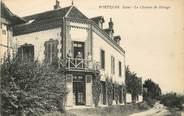 """27 Eure CPA FRANCE 27 """"Portejoie, chemin de Halage"""""""