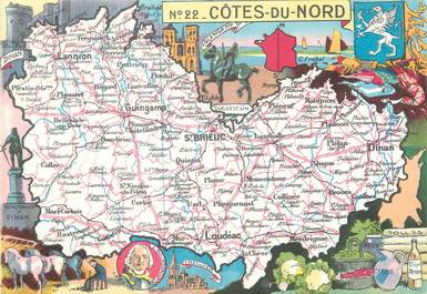 "/ CPSM FRANCE 22 ""Côtes du Nord"""