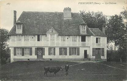 "CPA FRANCE 27 ""Piencourt, le chateau"""