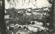 """19 Correze CPSM FRANCE 19 """"Treignac, vieux pont et vue de la côte"""""""