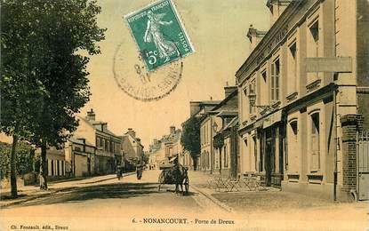 """CPA FRANCE 27 """"Nonancourt, Porte de Dreux"""""""