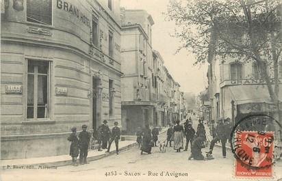 Cpa france 13 salon rue d 39 avignon 13 bouches du rhone salon de provence 13 ref 70552 - Rue kennedy salon de provence ...