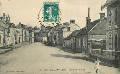 """CPA FRANCE 27 """"Nonancourt, Rte de Verneuil"""""""