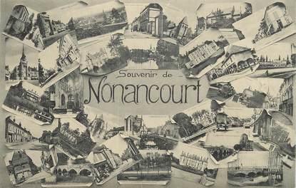 """CPA FRANCE 27 """"Nonancourt"""" / Vues de la ville"""
