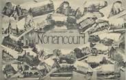 """27 Eure CPA FRANCE 27 """"Nonancourt"""" / Vues de la ville"""
