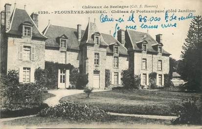 """CPA FRANCE 22 """"Plounévez Moedec, château de Portzamparc"""""""