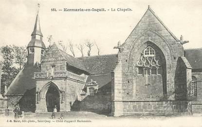 """CPA FRANCE 22 """"Kermaria en Isquit, la chapelle"""""""
