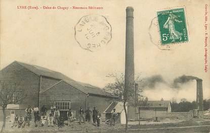 "CPA FRANCE 27 ""Lyre, Usine de Chagny"""