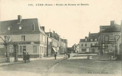 """CPA FRANCE 27 """"Lyre, Rte de Rouen """""""