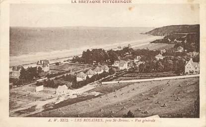"""CPA FRANCE 22 """"Les Rosaires près Saint Brieuc, vue générale"""""""