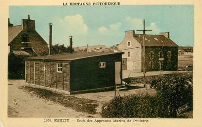"""CPA FRANCE 22 """"Kérity, école des apprentis marins de Poulafrit"""""""