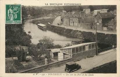"""CPA FRANCE 22 """"Pontrieux, un coin du port des quais"""""""