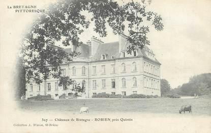 """CPA FRANCE 22 """"Château de Bretagne, Robien près Quintin"""""""