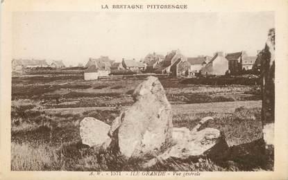 """CPA FRANCE 22 """"Ile Grande,  vue générale"""""""