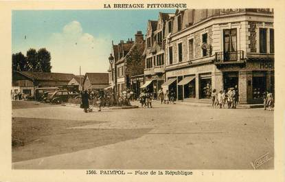 "CPA FRANCE 22 ""Paimpol, place de la République"""