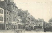 "22 Cote D'armor CPA FRANCE 22 ""Lannion, place du centre"""