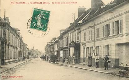 """CPA FRANCE 27 """"Notre Dame du Vaudreuil, la poste"""""""