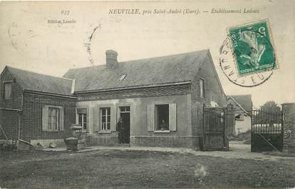 """CPA FRANCE 27 """"Neuville près Saint André"""""""