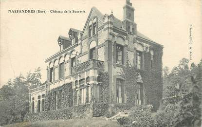 """CPA FRANCE 27 """"Nassandres, Château de la Sucrerie"""""""