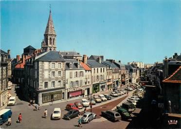 """CPSM FRANCE 23 """"Gueret, la place du marché"""""""