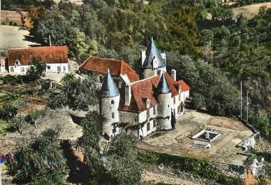 """CPSM FRANCE 23 """"Fresselines, le château de Puy Guillon"""""""