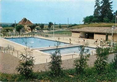 """CPSM FRANCE 24 """"Belves, la piscine"""""""