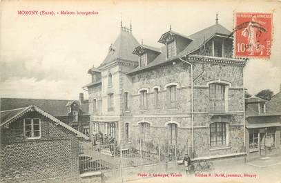 """CPA FRANCE 27 """"Morgny, maison bourgeoise"""""""
