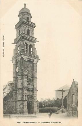 "/ CPA FRANCE 29 ""Landerneau, l'église  Saint Thomas"""