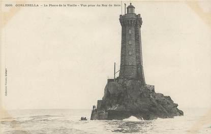 "/ CPA FRANCE 29 ""Gorlebella, le phare de la vieille"""