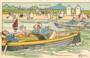 "Illustrateur CPA ILLUSTRATEUR GERVESE ""Nos marins, arrache garçons"""