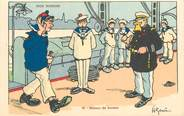 """Illustrateur CPA ILLUSTRATEUR GERVESE """"Nos marins, retour de bordée"""""""