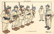 """Illustrateur CPA ILLUSTRATEUR GERVESE """"Nos marins, premières armes"""""""