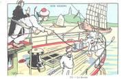 "Illustrateur CPA ILLUSTRATEUR GERVESE ""Nos marins, la sonde"""