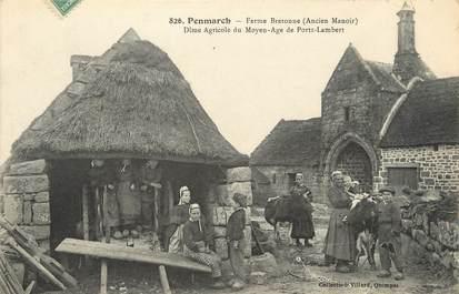 """/ CPA FRANCE 29 """"Penmarch, ferme Bretonne"""""""