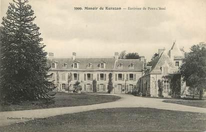 "/ CPA FRANCE 29 ""Manoir de Kerazan, environs de Pont l'Abbé"""