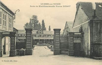 """CPA FRANCE 27 """"Le Mesnil sur l'Estrée, Etablissements Firmin Didot"""""""